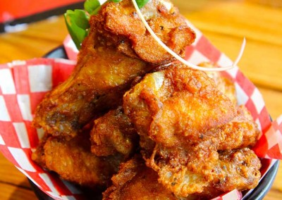 Karaage chicken wing